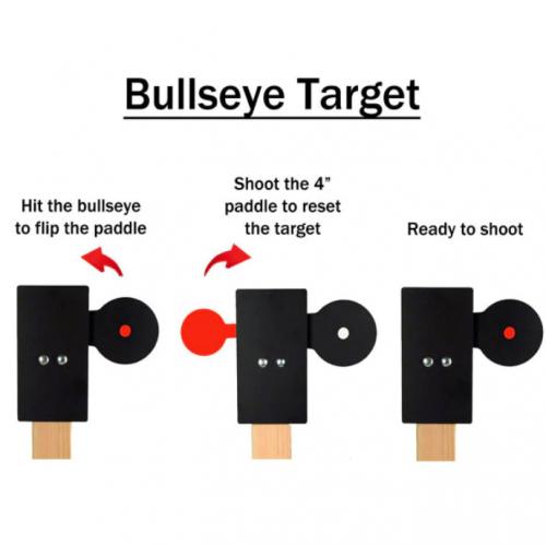 Double Spinner, Target, IPSC, IDPA, Çelik Hedef Sistemi, metal hedef (8)+Target